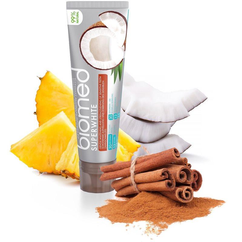 Splat Biomed Superwhite erősítő fogkrém kókuszolajjal 100 g
