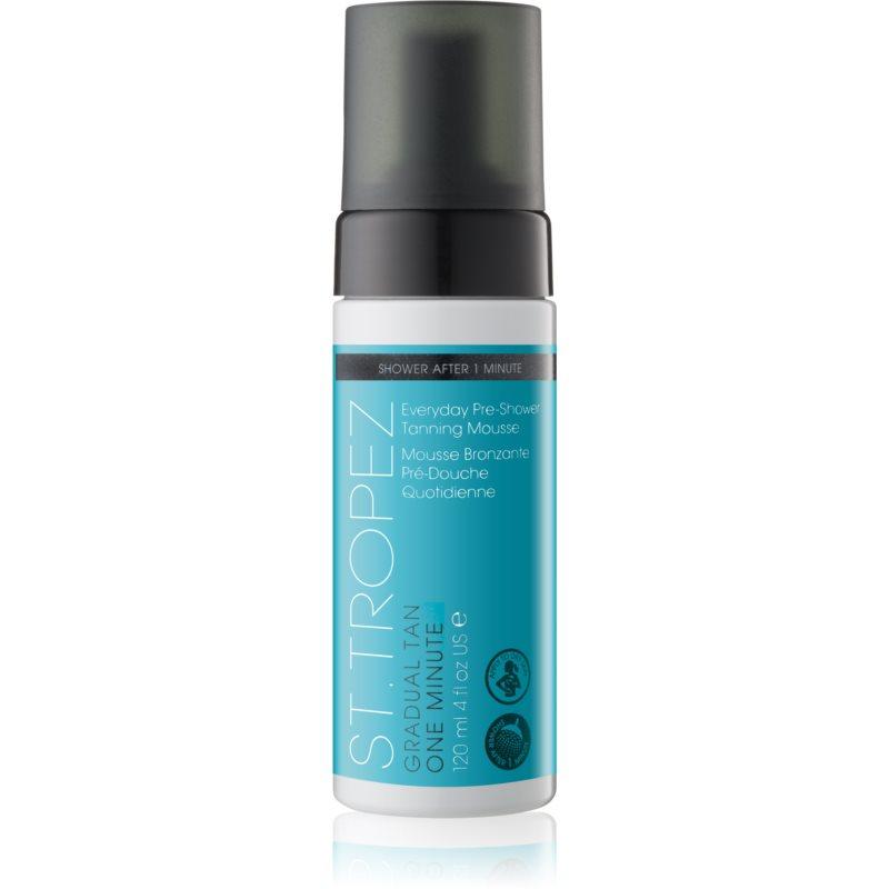 St.Tropez Gradual Tan One Minute espuma autobronzeadora com uso durante o duche de bronzeamento gradual 120 ml