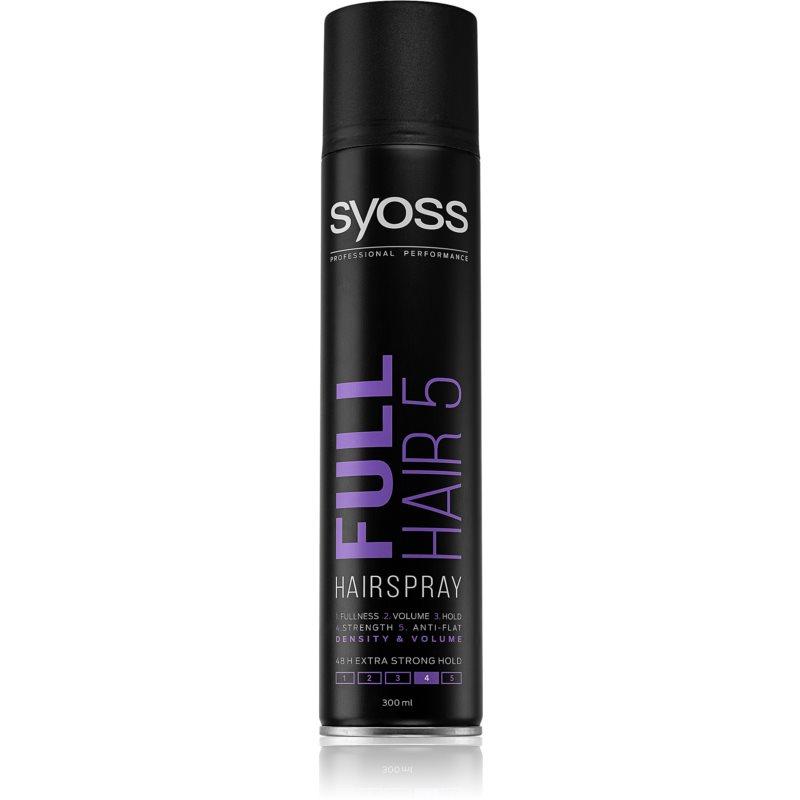 Syoss Full Hair 5 lak na vlasy s extra silnou fixací