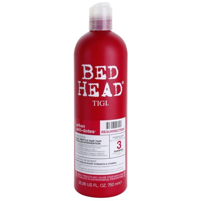 TIGI Bed Head Urban Antidotes Resurrection sampon gyenge, károsult hajra