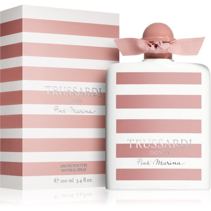 Trussardi Donna Pink Marina Eau de Toilette hölgyeknek 100 ml