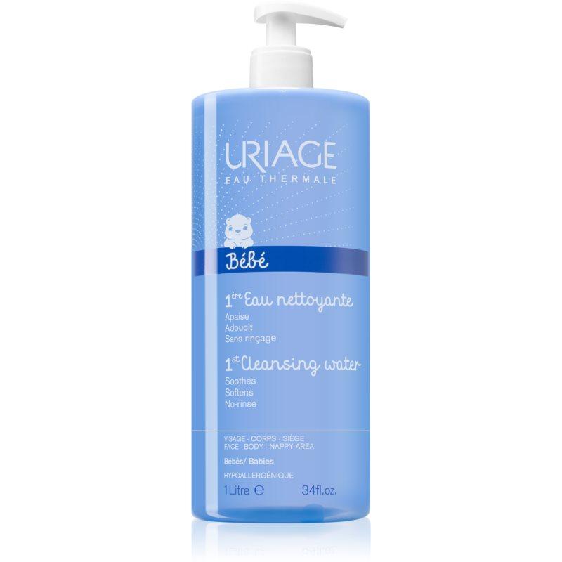 Uriage Bébé água de limpeza para corpo e rosto 1000 ml