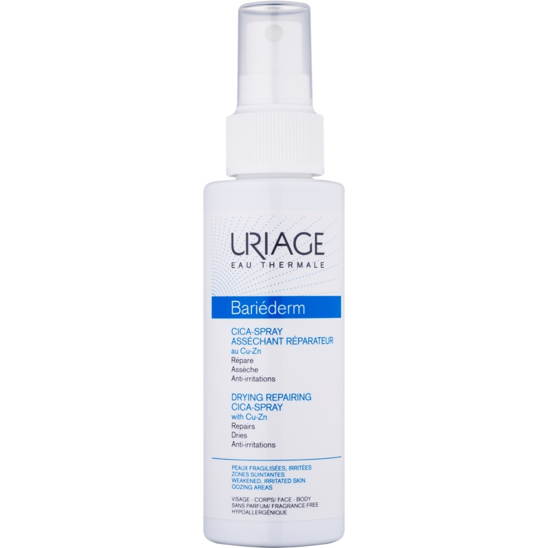 Uriage Bariéderm Drying Repairing Cica-Spray