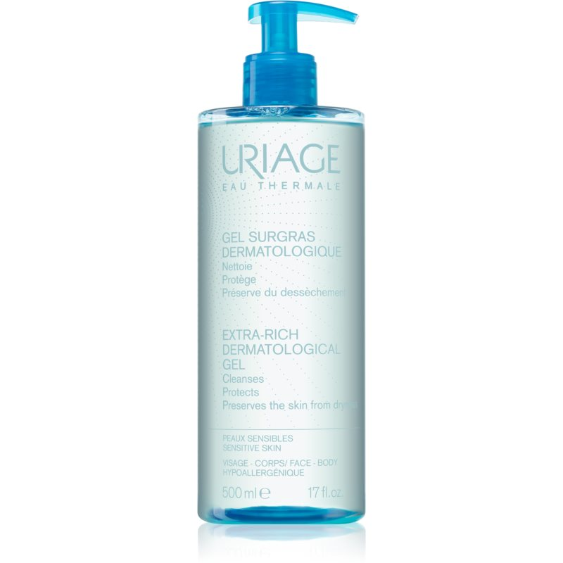 Uriage Hygiène Extra-Rich Dematological Gel čistiaci gél na tvár a telo 500 ml