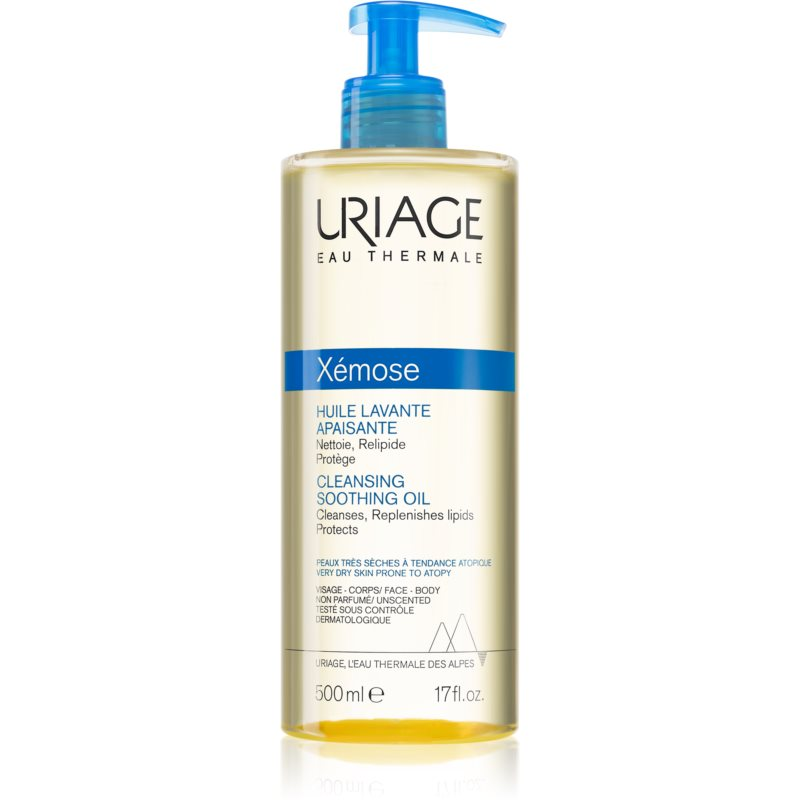 Uriage Xémose Soothing Cleansing Oil for Face and Body 500 ml thumbnail