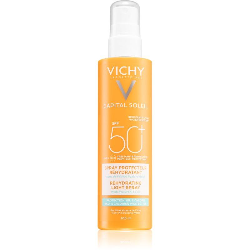Vichy Capital Soleil Beach Protect spray multi protector împotriva deshidratării pielii SPF 50+ 200 ml thumbnail