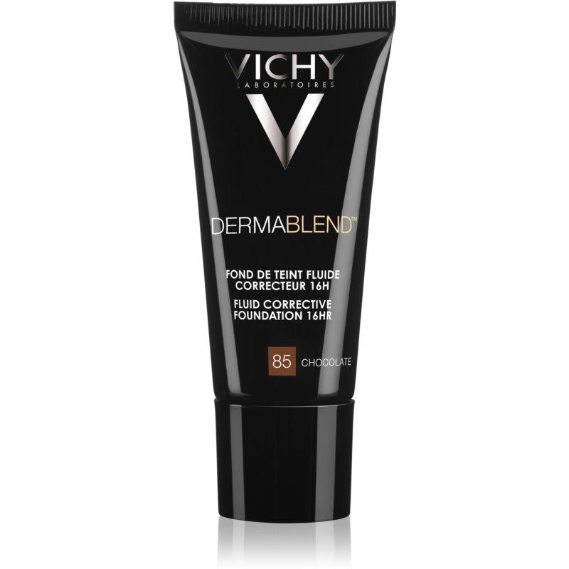 Vichy Dermablend коригиращ фон дьо тен с UV фактор цвят 85 Chocolate 30 мл.