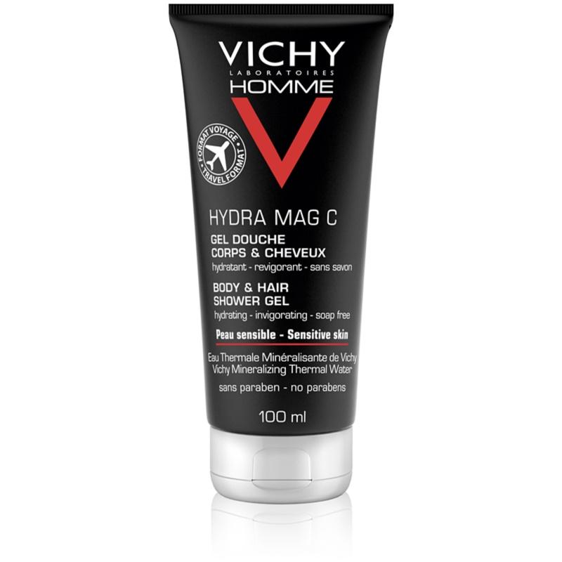 Vichy Homme Hydra-Mag C gel de duche para corpo e cabelo 100 ml