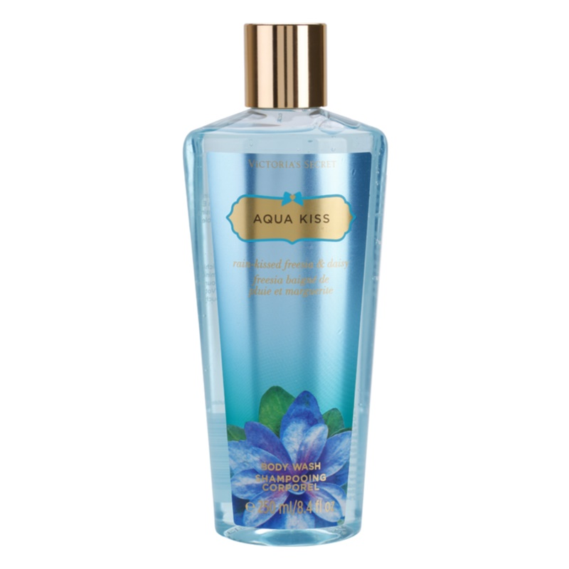 Victoria's Secret Aqua Kiss Rain-Kissed Freesia & Daisy gel de dus pentru femei 250 ml thumbnail