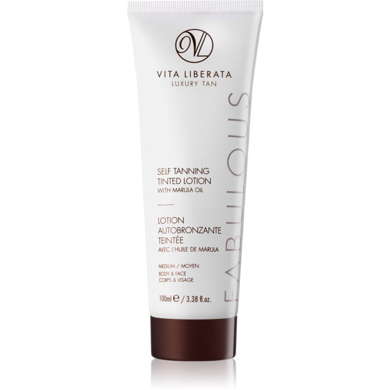 Vita Liberata Máscara hidratante autobronceadora con color Medium 100 ml