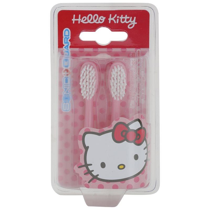 VitalCare Hello Kitty Capete de schimb pentru baterie sonic periuta de dinti 2 pc 2 buc thumbnail
