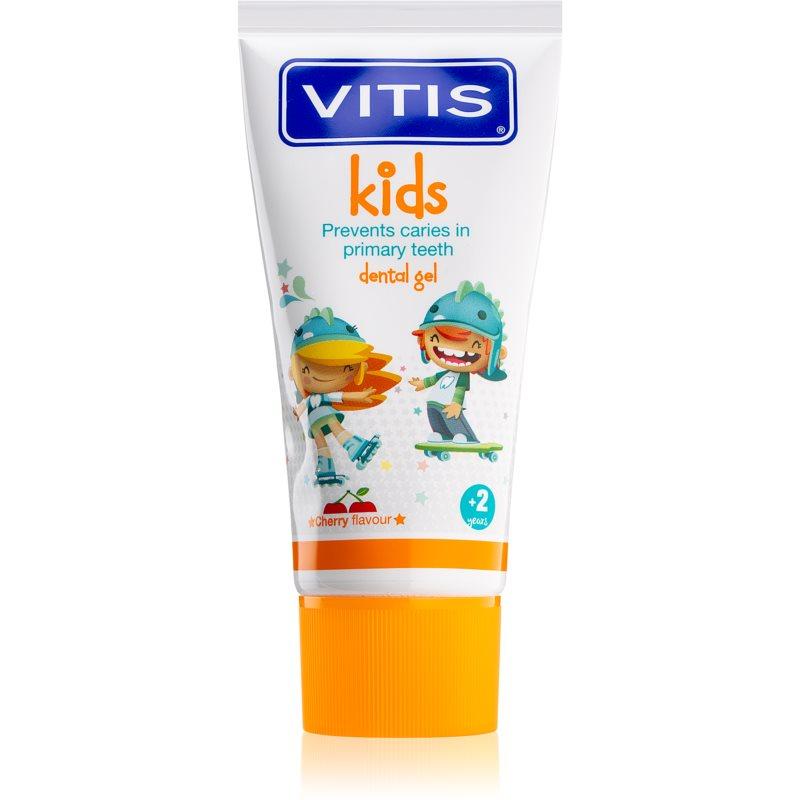 Dentaid Vitis Junior Gel Dentrífico Sabor Cereja 50ml