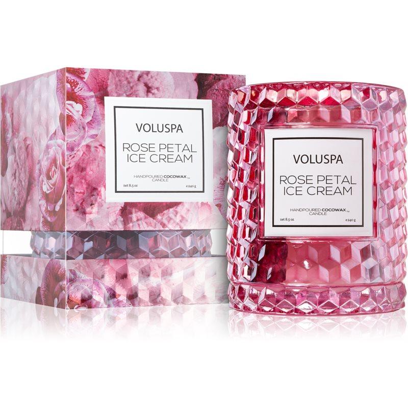 VOLUSPA Roses Rose Petal Ice Cream vonná svíčka I. 240 g