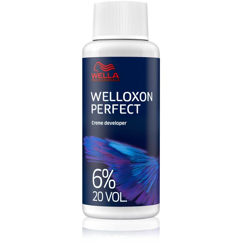 Wella Professionals Welloxon Perfect aktivační emulze 6 % 20 vol. pro všechny typy vlasů 6 % 20 vol. 1000 ml