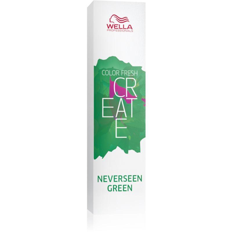 Wella Professionals Color Fresh Create Culoare temporară par culoare Neverseen Green 60 ml thumbnail