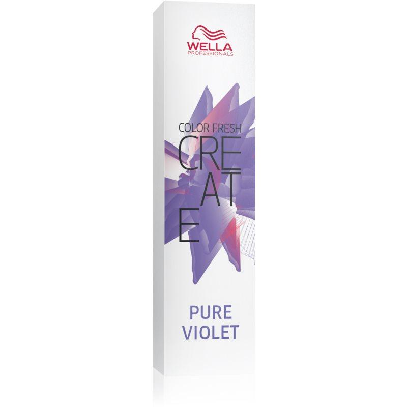 Wella Professionals Color Fresh Create Culoare temporară par culoare Pure Violet 60 ml thumbnail