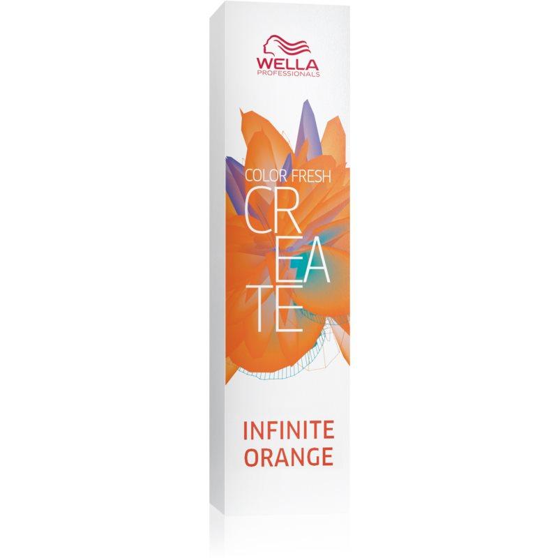 Wella Professionals Color Fresh Create Culoare temporară par culoare Infinite Orange 60 ml thumbnail