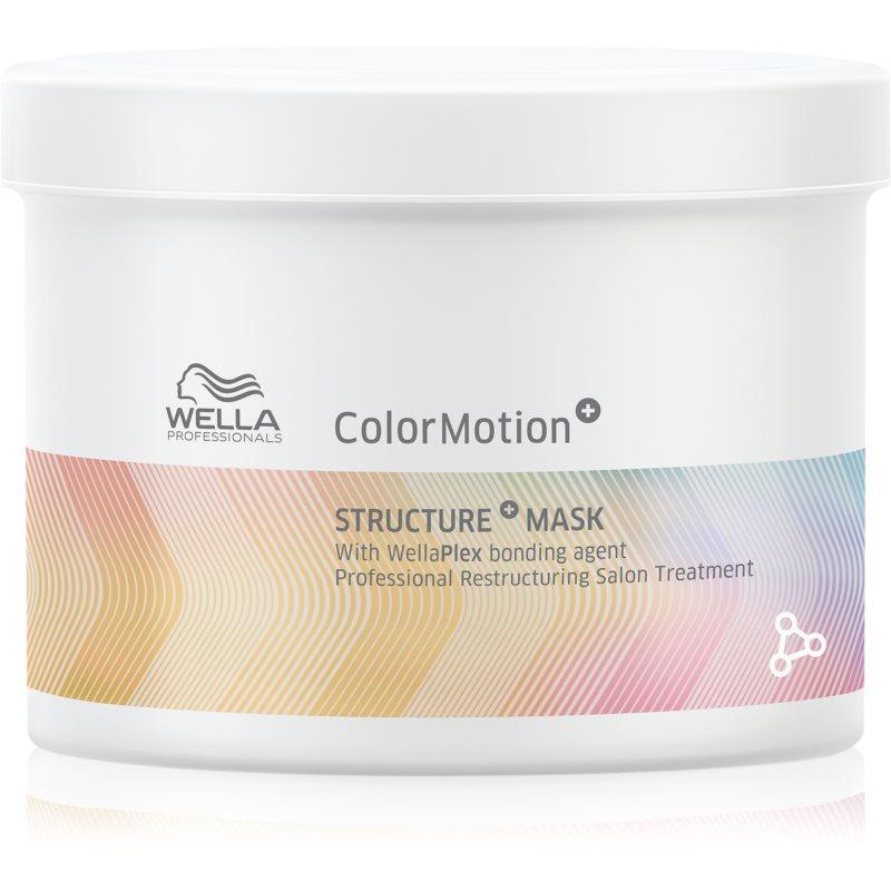 Wella Professionals ColorMotion+ haj maszk a szín védelméért 500 ml