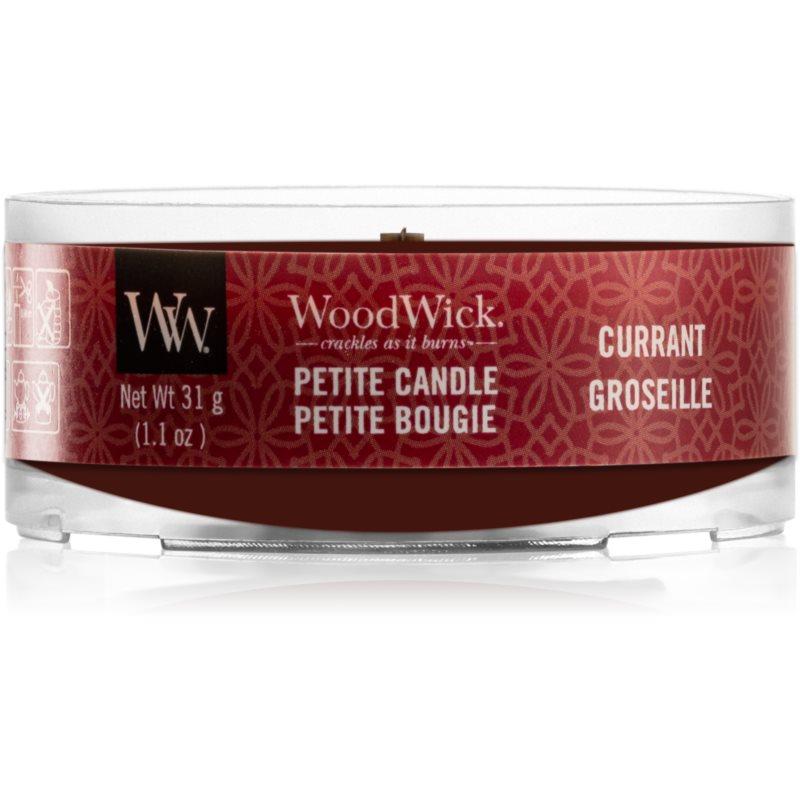 Woodwick Currant вотивна свічка з дерев'яним гнітом