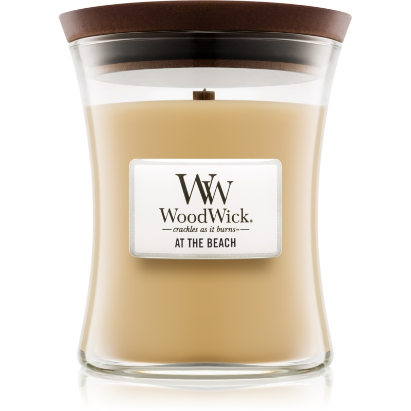 Woodwick At The Beach lumânare parfumată cu fitil din lemn 275 g thumbnail