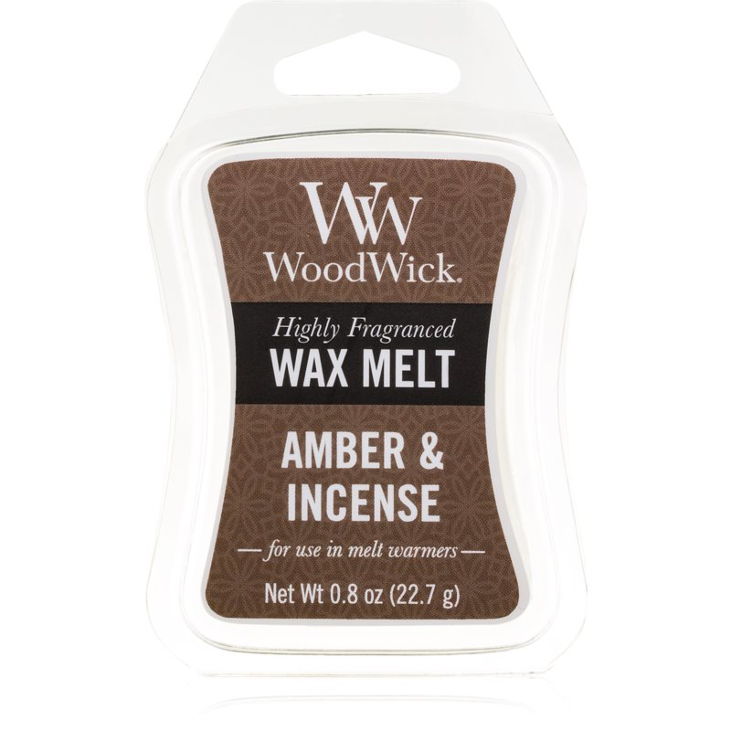 Woodwick Amber & Incense vosk do aromalampy 22,7 g