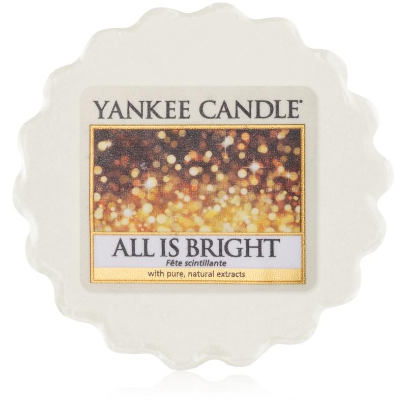 Yankee Candle All is Bright cera para lámparas aromáticas 22 g
