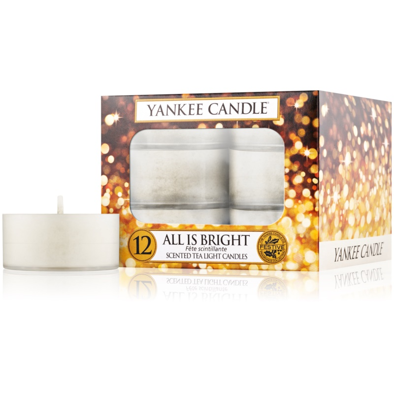 Yankee Candle All is Bright lumânare 12 buc thumbnail