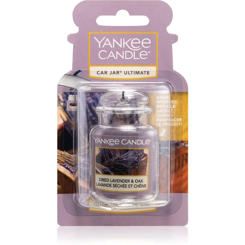 Yankee Candle Dried Lavender & Oak vonná auto visačka