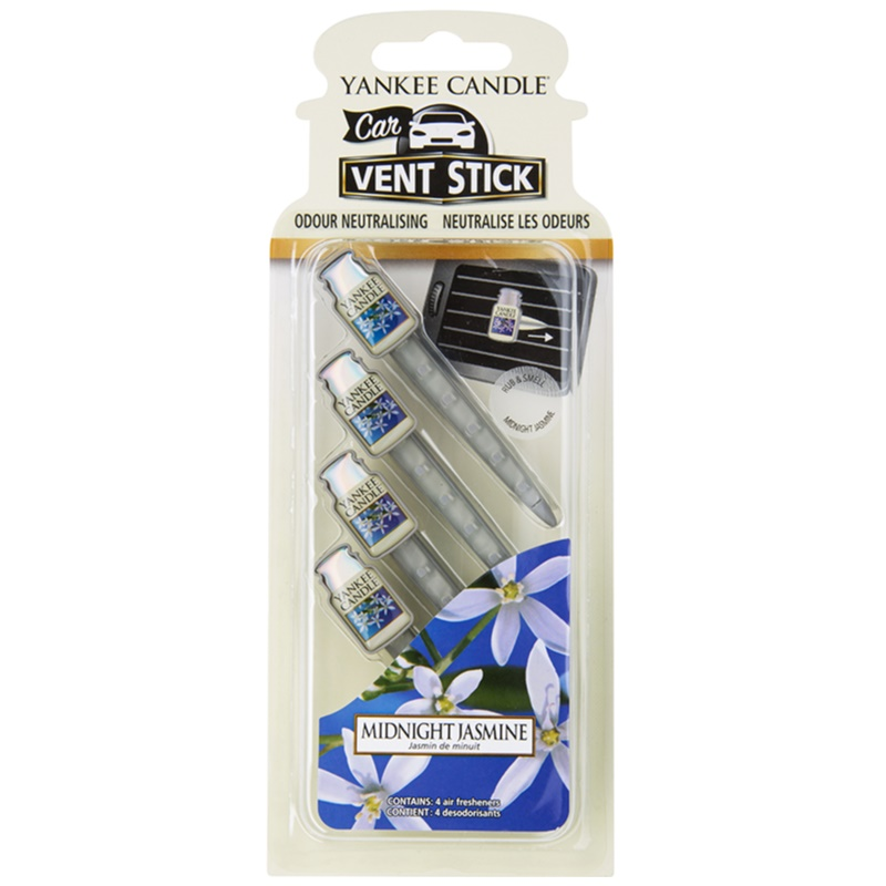 Yankee Candle Midnight Jasmine car air freshener 4 pc thumbnail