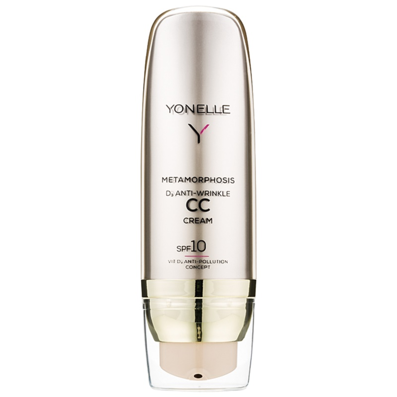 Yonelle Metamorphosis CC Creme mit Antifalten-Effekt LSF 10