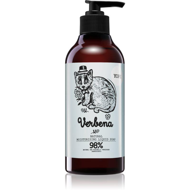 Yope Verbena přírodní tekuté mýdlo na ruce