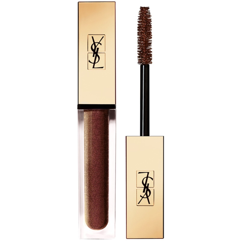 Yves Saint Laurent Vinyl Couture Mascara Lenghtening, Curling And Volumizing Mascara Shade 4 I'm The Illusion - Brown 6,7 Ml