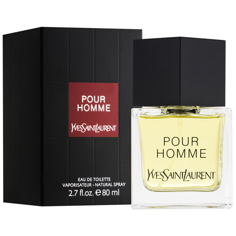 Yves Saint Laurent Pour Homme eau de toilette para hombre 80 ml