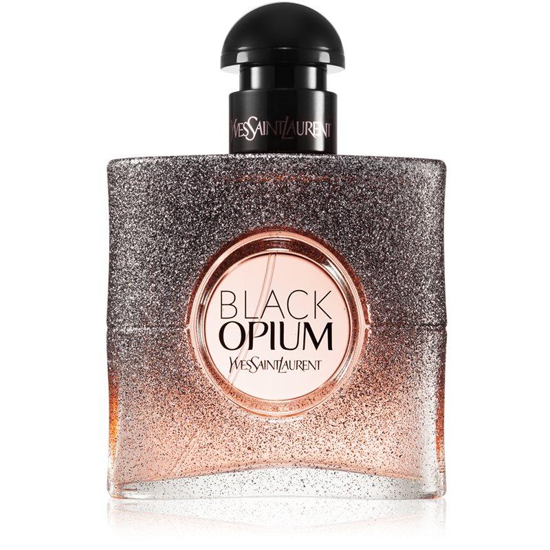 Yves Saint Laurent Black Opium Floral Shock eau de parfum pentru femei 50 ml thumbnail