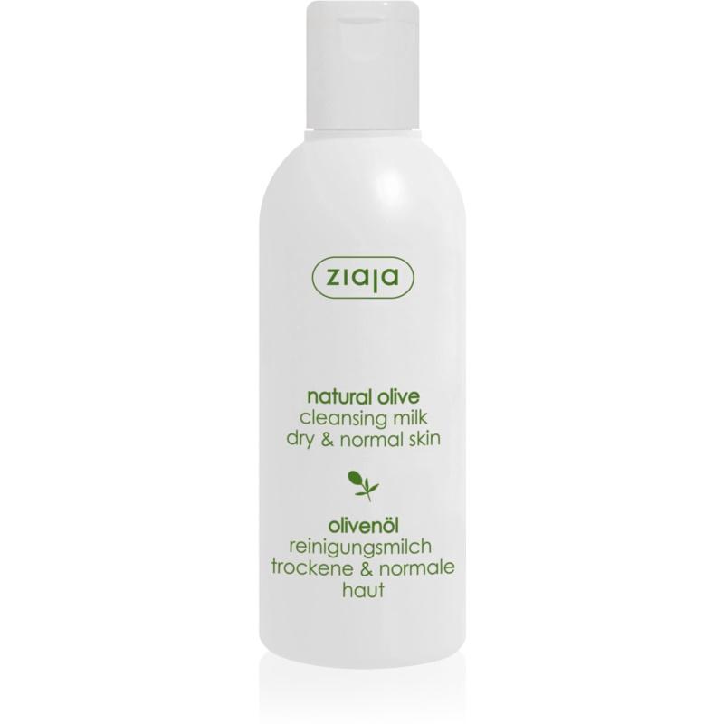 Ziaja Natural Olive мляко за почистване на грим с екстракт от маслини 200 мл.