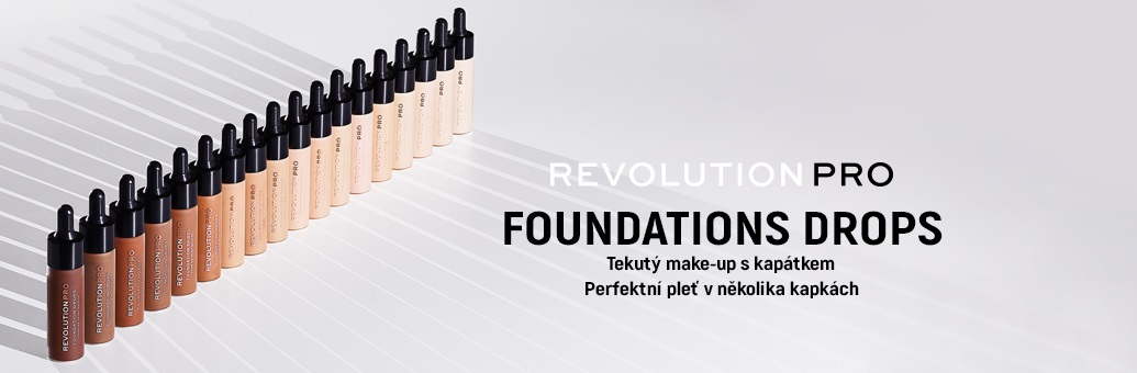 Revolution PRO Foundation drops