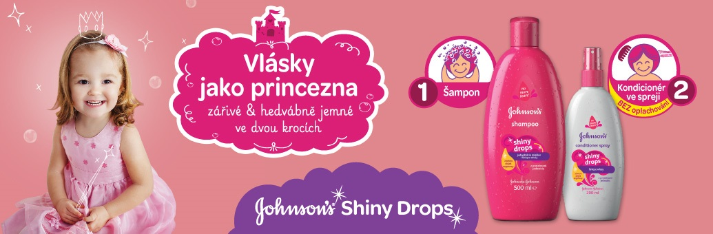 Johnson's Baby Shiny Drops
