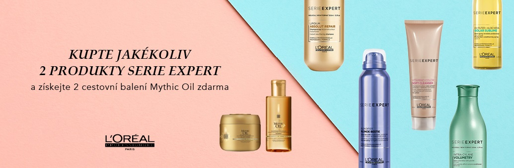 L'Oréal Professionnel W42 Mythic Oil travel sizes zdarma