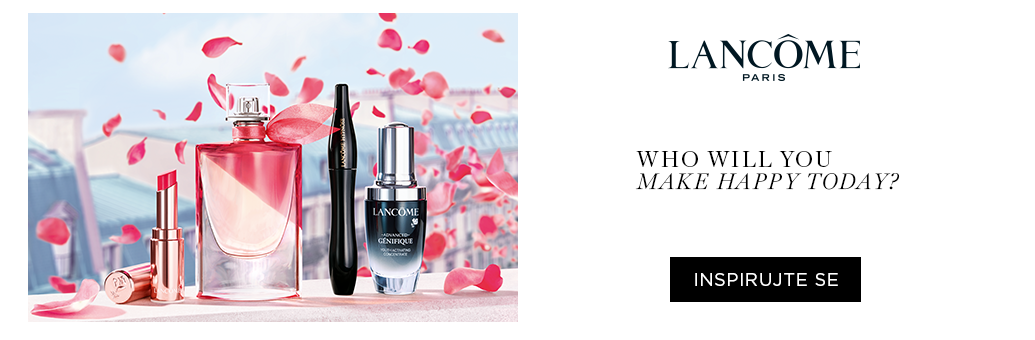 Lancome Happiness Campaign