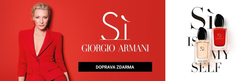 Armani Si Family CTA doprava