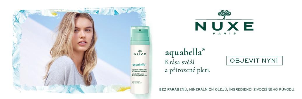 Nuxe Aquabella - modelka