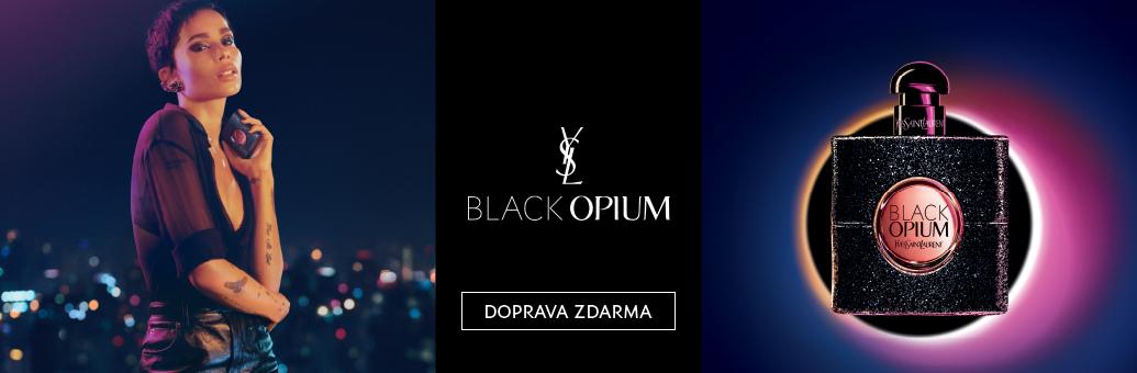 YSL Black Opium EDP - Zoe Kraviz