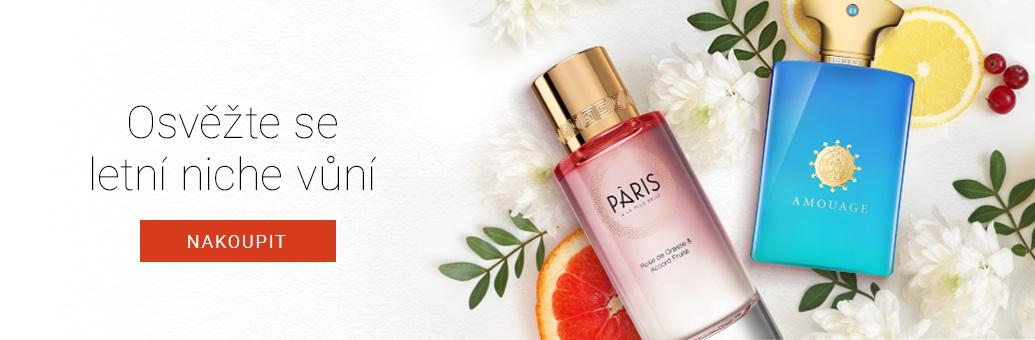Nejlepší letní niche parfémy