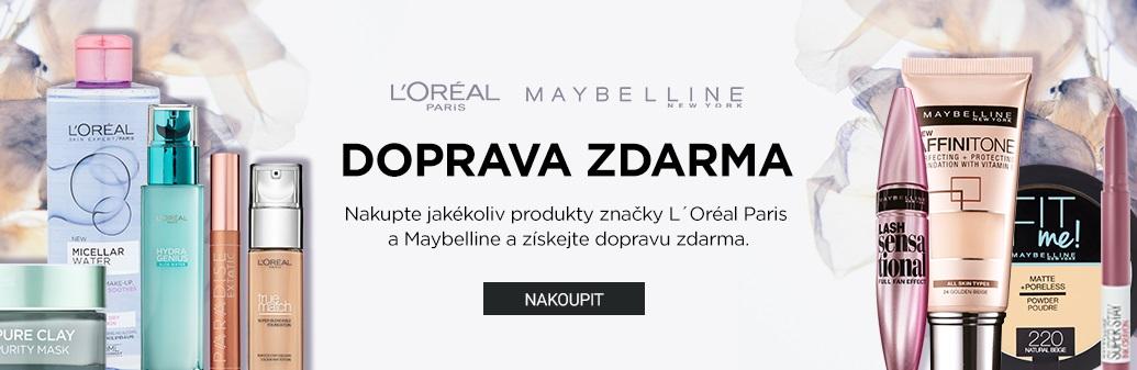 Maybelline doprava zdarma