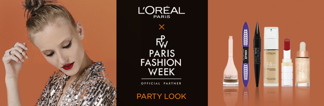 Loreal Paris party look