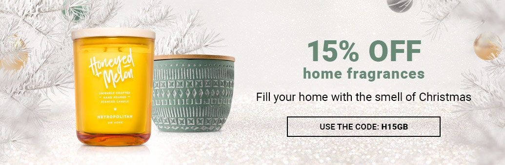 15% off all home fragrances!