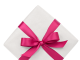 Choisissez parmi une sélection de cadeaux