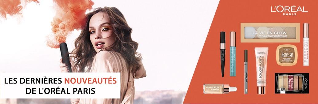 Loreal Paris Novinky kosmetika