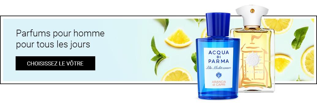 niche pánské parfémy na den