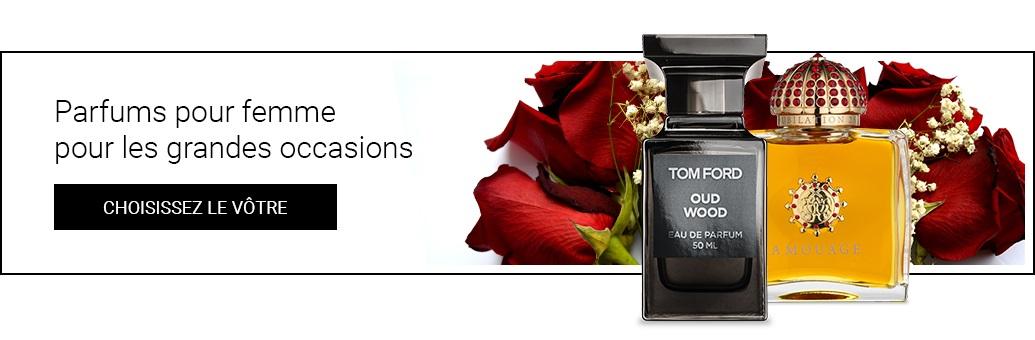 Parfums pour femme pour les grandes occasions